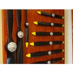Helice Fiala gas 16 x 10 madera Negra