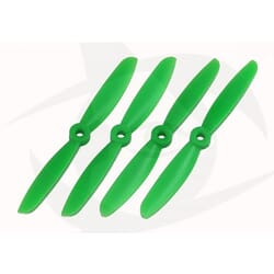 Helices Verdes drone 5x4.5 normal+invertida (4)