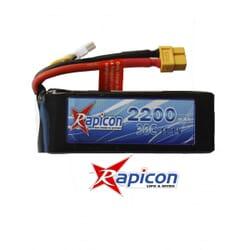 Lipo Rapicon 11.1V 2200mAh 3S 30C