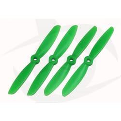 Helices Verdes drone 5x4.5 normal+invertida (4) bullnose