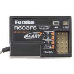 Receptor Futaba R603FS 3-Canales 2.4GHz FASST