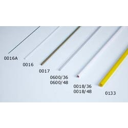 Tubo plastico transparente 3.2 x 2.2 x 915 mm