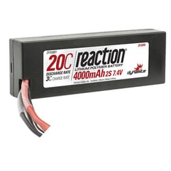 Bateria Lipo 7.4V 4000mAh 2S 20C Caja dura