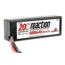 Bateria Lipo 11.1V 4000mAh 2S 20C Caja dura
