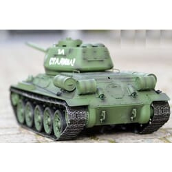 Tanque 1/16 T-34 con humo y sonido (6mm Shooter)