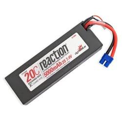 Bateria Lipo 7.4V 5000mAh 2S 20C Caja dura