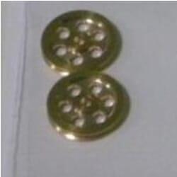 Polea de bronce 2,5/1 (2 pcs)