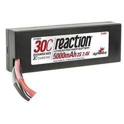 Bateria Lipo 7.4V 5000mAh 2S 30C Caja dura