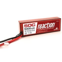 Reaction Lipo 2S 5000 50C caja dura