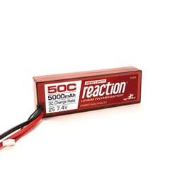 Bateria Lipo 7.4V 5000mAh 2S 50C Caja dura